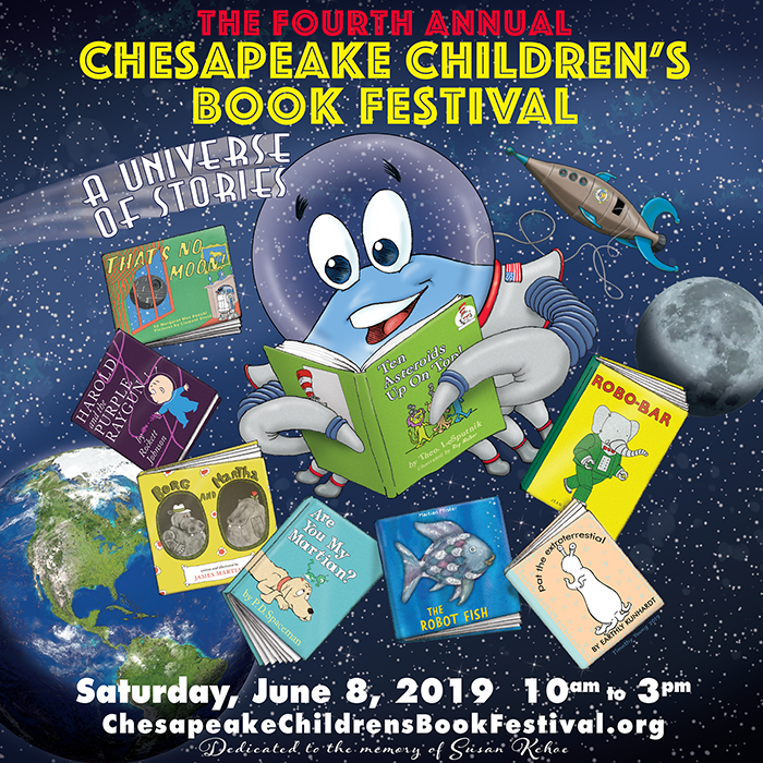 The 4th Annual Chesapeake Children's Book Festival