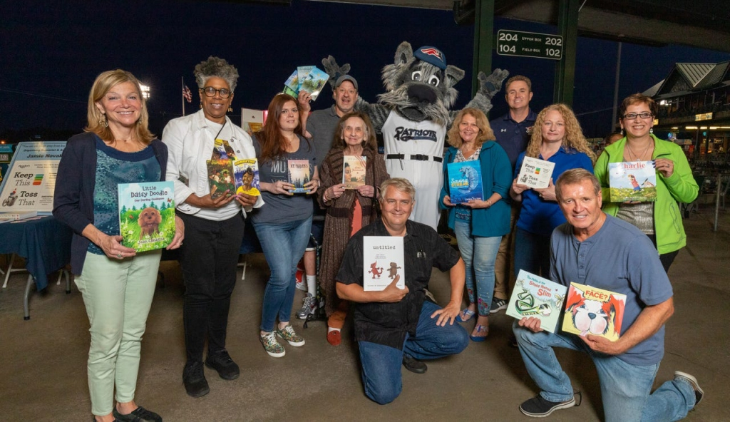 My Central Jersey hosted an Author Celebration on Tuesday, Aug. 27 where members of the community met 10 local authors while enjoying a Somerset Patriots baseball game.